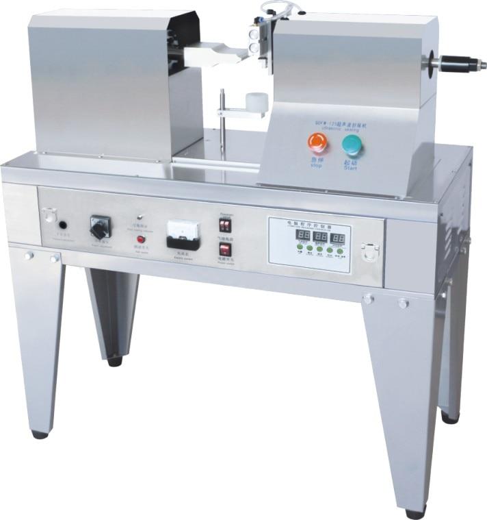 Small Business Cosmetic Tube Ultrasonic Sealing Machine, Soft Plastic Tube Sealer Machine