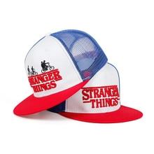 Stranger Things Baseball Cap Snapback Hat For Boy Men Women
