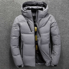 new Winter Jacket Mens Quality Thermal Thick Coat Snow Red Black Parka Male Warm