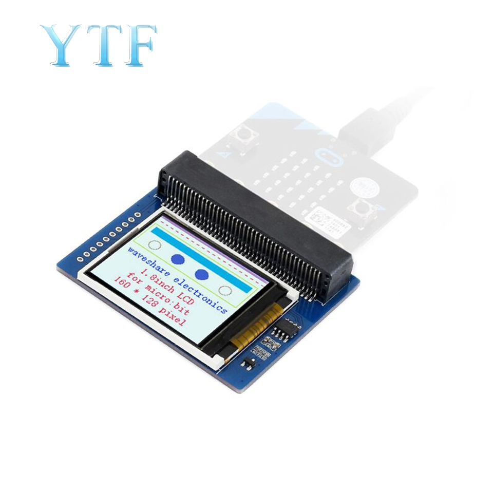 Micro: Bit Microbit 1.8-Inch LCD Display Expansion Board Module For Arduino