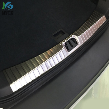 2013 2014 2015 2016 2017 For FORD ESCAPE KUGA REAR TRUNK PANEL BUMPER PROTECTOR DECK BOOT CARGO SILL PLATE TRIM COVER THRESHOLD