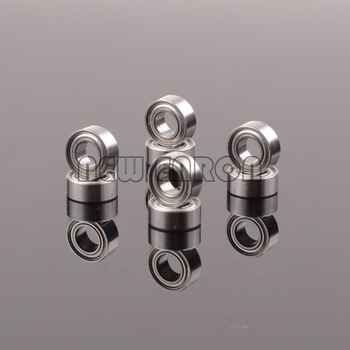 8PCS Oil Bearing 10*5*4mm For RC Hobby Car 1/10 HPI WR8 Series Flux image