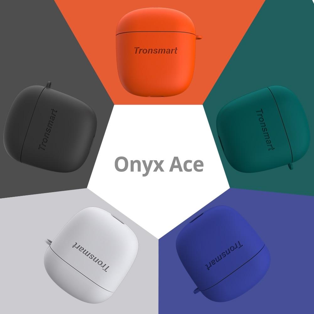 Free Case Tronsmart Onyx Ace TWS True Bluetooth Wireless Earphones CVC 8 0 Noise Reduction IPX5 Waterproof Support PATX amp ACC