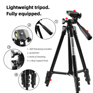Image 4 - MountDog 35 85cm Adjustable Mini Tripod Stand For Phone Mount Holder With Phone Clip For GoPro Action Camera