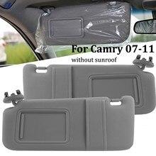 Parasol gris para coche Toyota Camry, 2007, 2008, 2009, 2010, 2011, lado del pasajero, organizador izquierdo derecho 7432006780B0