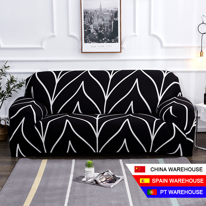 Floral Printing Sofa Cover Elastic Sofa Slipcovers Sofa Covers for Living Room Corner Sofa Towel Couch Cover Furniture Slipcover Sofa Cover    - AliExpress
