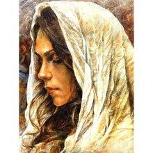 Новинка алмазная вышивка красота Алмазная мозаика живопись портретное