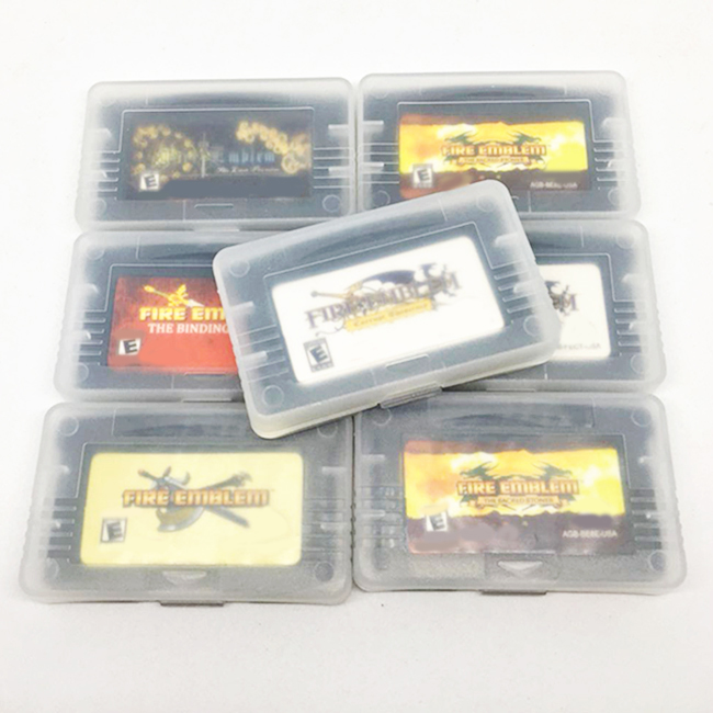 32 Bit High Quality for Fire Emblem Series 7 Games Games English Edition Video Game Cartridge image