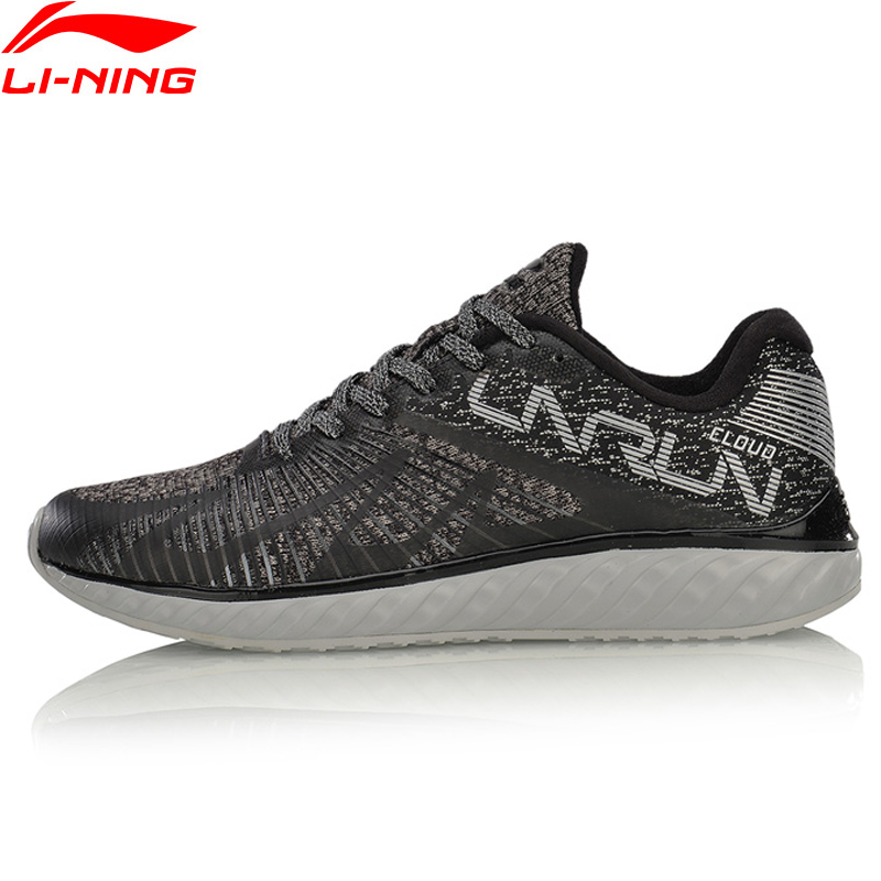 (Break Code)Li-Ning Women LN CLOUD IV 'FLAME' Running Shoes Mono Yarn Sneaker LiNing Li Ning Wearable Sport Shoes ARHM068 XYP590