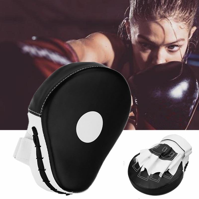 1pcs Sanda Boxing Gloves Pads Hand Target Pad Muay Thai Kick Focus Punch Pad Karate Taekwondo Mitt MMA Foam Boxer Training