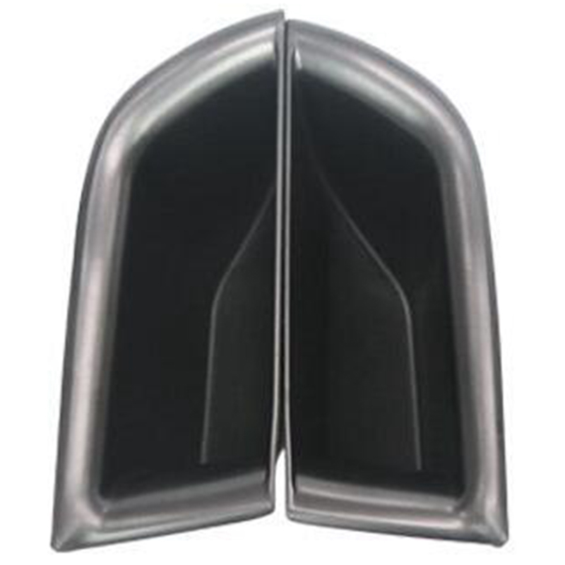 Black Interior Rear Door Storage Box Holder 2pcs For Kia Sorento 2015-2017