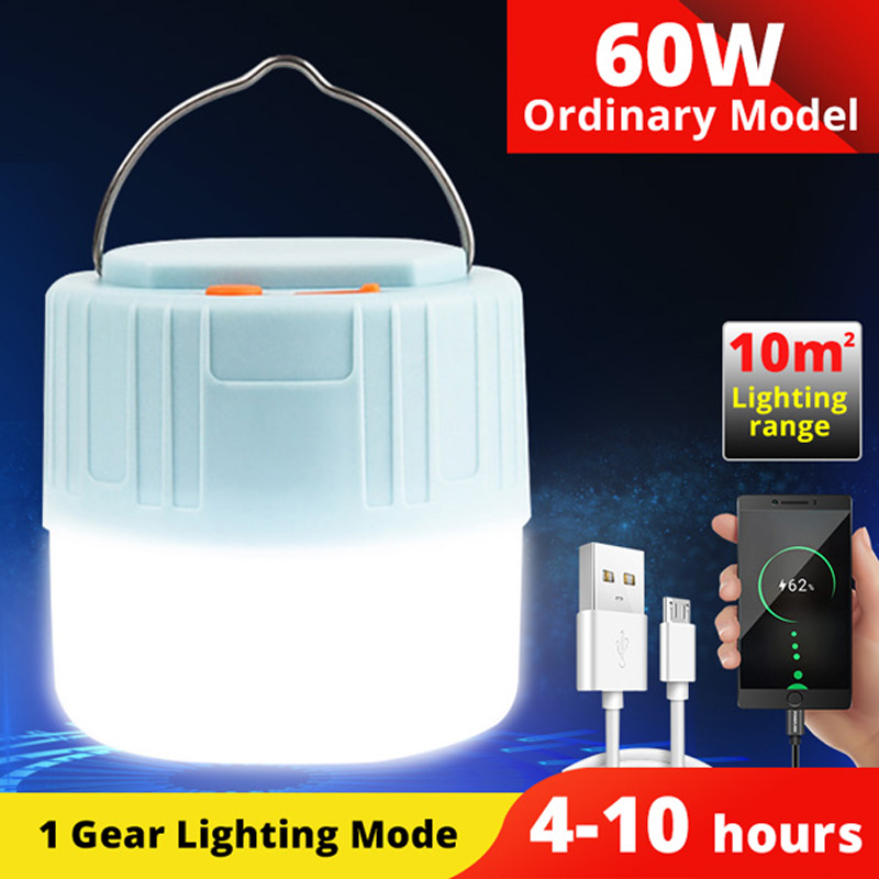 Details about  /Multi-Function USB  Rechargeable Bulb Outdoor Tent Camping Hiking Light Bulb