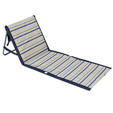 Foldable Deck Chair Portable Beach Chairs Aluminum Single Recliner Sofa Lounge Outdoor Furniture Park And Beach Chair