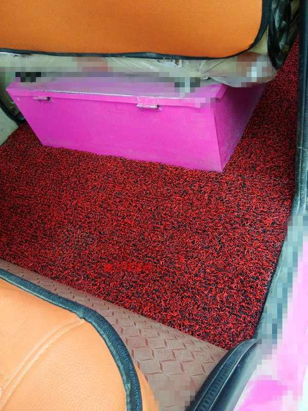 Elderly Scooter Enclosed Electric Tricycle Four Wheel Car Foot Pad Free Tailor Thick Anti-slip Floor Mat