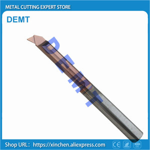 Image 2 - Boring tool 2 12mm.boring knife overall carbide lathe small diameter hole tool,high quality new nano coating HRC60 degrees