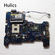 Huics original para toshiba satellite l670 l675 computador portátil placa-mãe nalaa LA-6042P k000103810 k000103830 hm55 ddr3