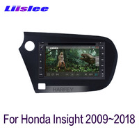 For Honda Insight 2009~2018 LiisLee Car Multimedia 7 Inch Screen GPS Audio Hi Fi Radio Accessories Original Style Navigation
