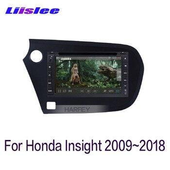 For Honda Insight 2009~2018 LiisLee Car Multimedia 7 Inch Screen GPS Audio Hi-Fi Radio Accessories Original Style Navigation