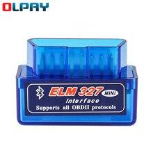 Elm327 obd2 scanner código v1.5 v2.1 mini bluetooth obd2 automóvel diagnosticar leitor de código obd2 scanner de carro ferramentas de reparo diagnóstico