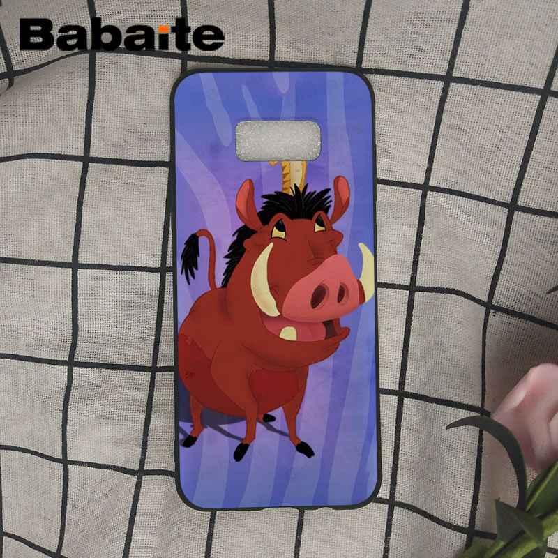 Babaite mantener almeja El Rey León 3: hakuna matata Coque caja del teléfono de la cáscara del teléfono para Samsung Galaxy s10 s10plus s6 s9 s8plus s7 s6edge casos