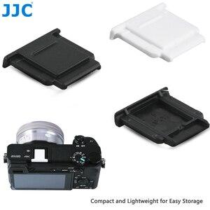 Image 1 - JJC Камера Горячий башмак Обложка черный, белый цвет протектор Кепки для Sony A77II A3000 A6000 A6300 A6500 A99 II A7 заменить Sony FA SHC1M