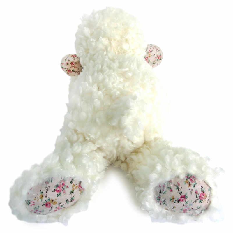 Luxus 20cm Weiße Schafe Plüsch Spielzeug Hohe Qualität Weichen, Flauschigen Lamm Puppe Geschenk Kuscheltiere Nette Klassische Kuscheln Spielzeug für Kinder