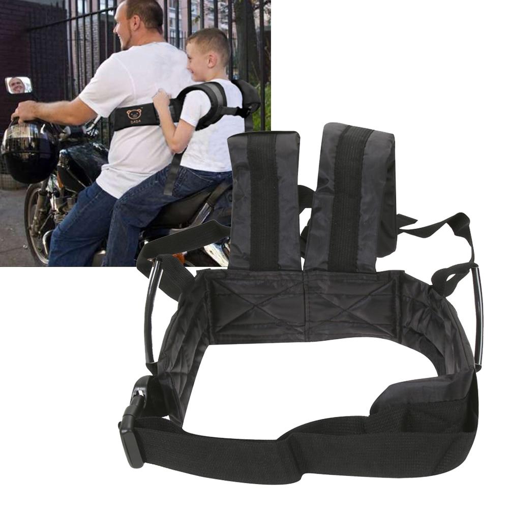 Baby Safety Belt Baby Motorcycle Rucksack Belt Children Safety Harness Kids Boys Girls Safety Seat Back Sling Durable Comfort
