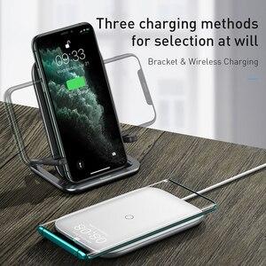 Image 5 - Baseus cargador inalámbrico rápido para iPhone 11xs X Max, Samsung S10, S9, 15W