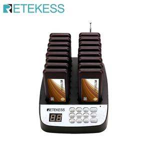 Image 1 - Retekess T113 Restaurant Pager With 16 Pager Receivers Max 998 Buzzers For Restaurant Church Coffee Shop Guest Paging System
