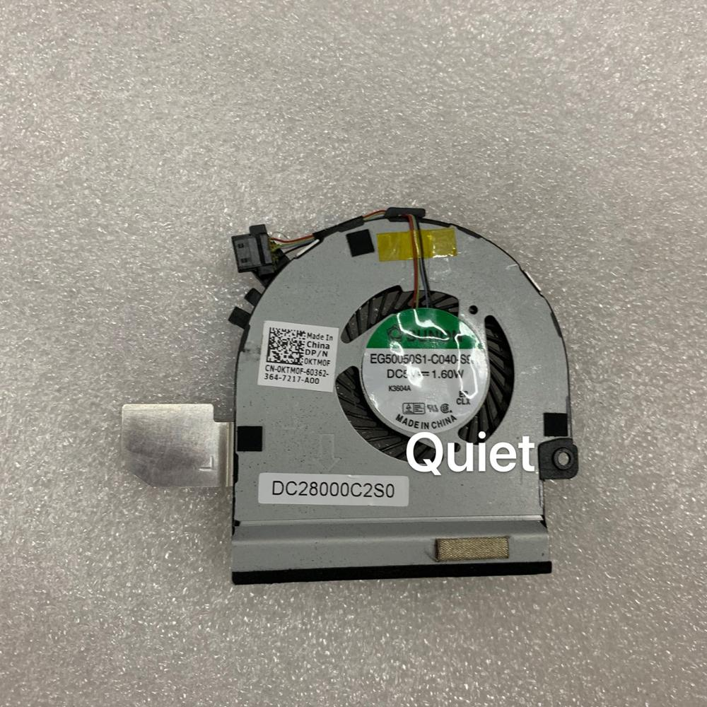 Free Shipping New Original CPU Fan For Dell XPS 12 XPS12 9Q23 Laptop CPU Cooling Fan Cooler KTM0F 0KTM0F  DC28000C2S0
