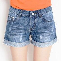 2020 neue denim shorts weiblichen sommer lose große größe casual abnehmen mode denim shorts hohe qualität