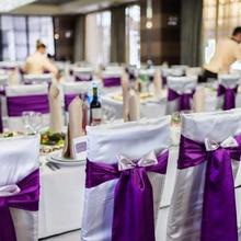 1 шт. Топ атласный тканевый стул с поясом свадебный стул с узлом для украшения стульев Галстуки Для Свадьба Банкет вечерние мероприятия Декор