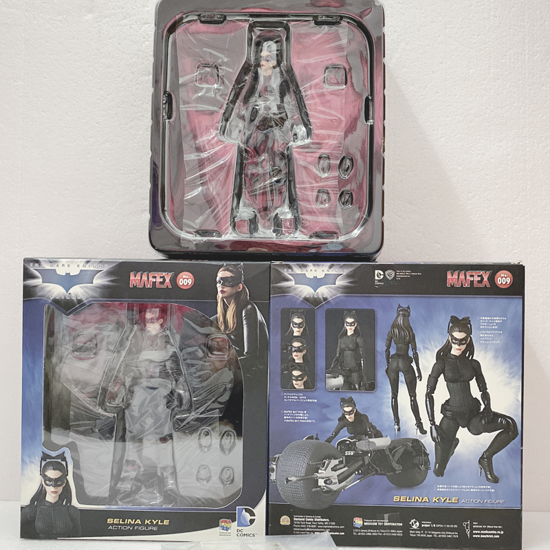 Mafex No 009 Selina Kyle Catwoman Dark Knight Rises Action Figure USA SELLER