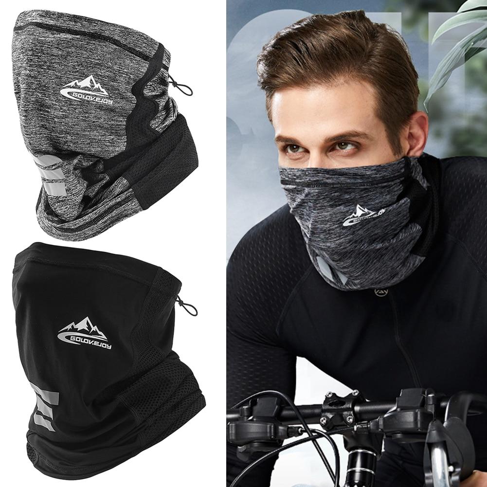 UV zaščita ledeno svileno pokrivalo za obraz vratna cev na prostem - Kampiranje in pohodništvo - Fotografija 1