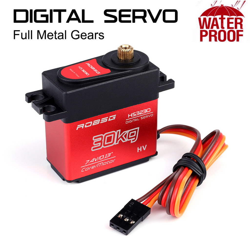 HS3230 30KG 25T Coreless Waterproof Metal Gear Digital Servo For RC Models Accessories Kids Toys Juguetes Brinquedos игрушки