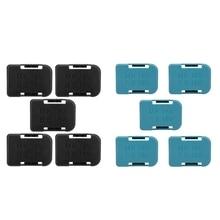 HOT 5Pcs Battery Storage Rack Holder Case for Makita 18V Fixing Devices