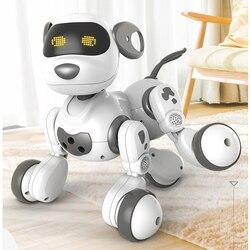 Fernbedienung Intelligente Roboter Hund Spielzeug Reden Spaziergang Interaktive Niedlichen Welpen Elektronische Pet Tier Modell Geschenk Spielzeug für kinder