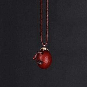 Image 2 - Collar Griffith Berserk Behelit Crimson Beherit Guts Beheritto The Egg Of The King con cuerda de cuero, tipo activado, 1997