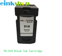 Einkshop For canon cartridge pg 510 PG-510 Ink Cartridge PG510 Pixma MP250 mp270 MP280 MP480 MP490 printer