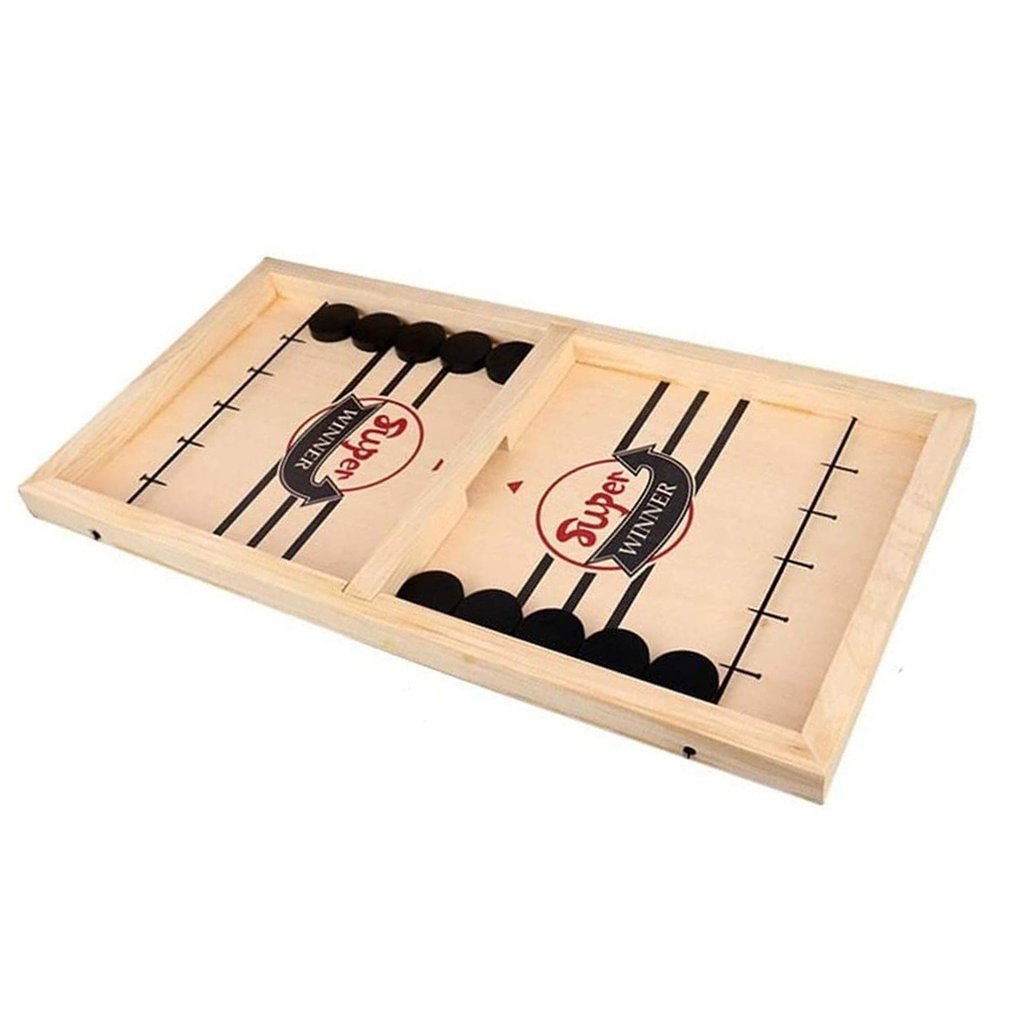 Catapult Chess Bumper Chess Parent-child Interactive Chess Catapult Board Game Bouncing Chess Tabletop Hockey Board Game Toy