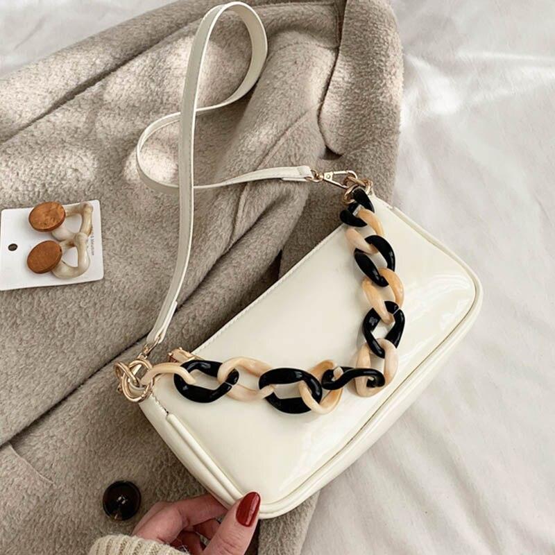 Vintage Small Shoulder Bags For Women 2020 New Mini Handbags Women Bag Leather Crossbody Messenger Bag Bolsa Feminina Hand Purse
