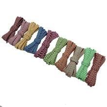Coolstring 7 мм Премиум 3 красочные плоские полиэфирные шнурки