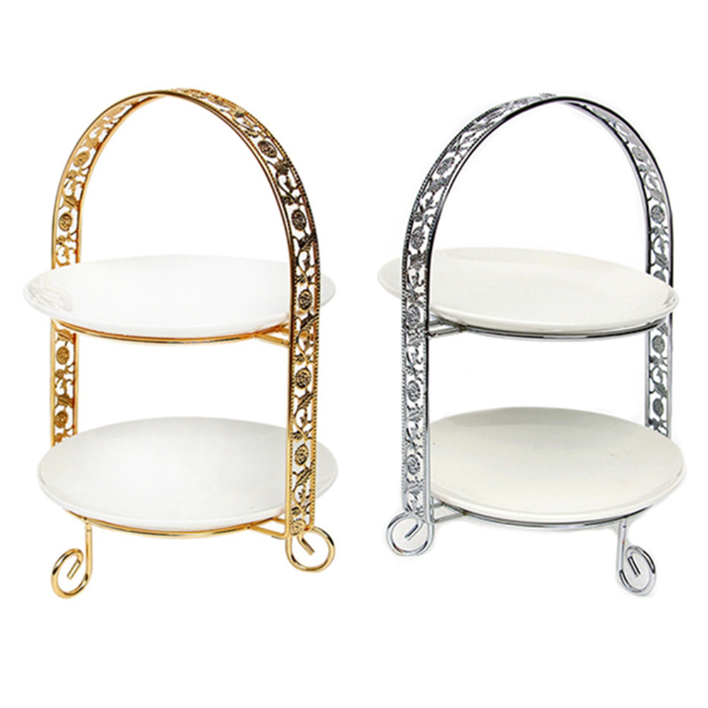Rack Stand-Decorations Cake-Stand Dessert Cupcake Pedestal Fruit Arch-Shaped-Display