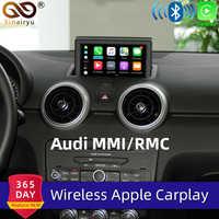 Sinairyu WIFI Wireless Apple Carplay For Audi A1 A3 A4 A5 A6 A7 A8 Q3 Q5 Q7 C6 MMI 3G RMC 2010-2018 iOS Android Mirroring Auto