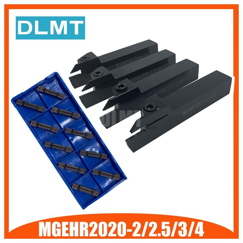 MGEHR/L2020-1.5 MGEHR2020-2 MGEHR2020-2.5 MGEHR2020-3 MGEHR2020-4 Tool Holder Set External Grooving Turning Lathe Bar