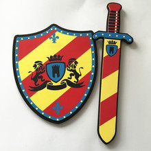 EVA Pirate Sword Shield Set Soft Children Cosplay Anime Movie Show PU Toy Weapons Kit Kids Game Foam Toy Gifts