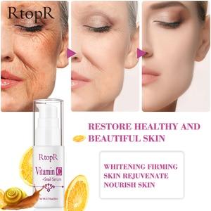 Image 4 - Sérum à lacide hyaluronique vitamine c Anti vieillissement, rétrécit les pores, hydrate, contrôle du visage, huile, produit de soins pour la peau