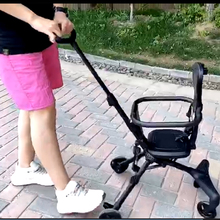 New Simple Comfortable Stable Baby Stroller Collapsible Mult