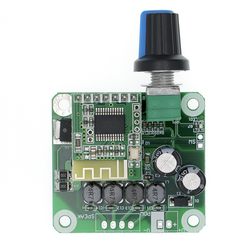 Bluetooth 4,2 TPA3110 15 Вт + 15 Вт Цифровой стерео аудио Мощность модуль усилителя 12V-24V автомобиль для USB Динамик, Портативный Динамик