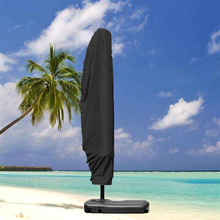 Hot Parasol Umbrella Cover Waterproof Dustproof Cantilever Outdoor Garden Patio Umbrella Shield MVI-ing цена